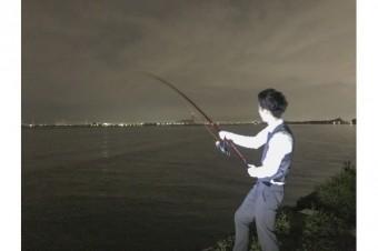 夜釣りに行ってきました